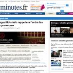 Capture de 20Minutes.fr