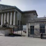 Entrée publique de l'Assemblée Nationale