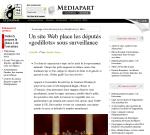 Capture de MediaPart.fr