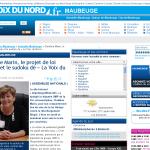 Capture de La Voix du Nord.fr